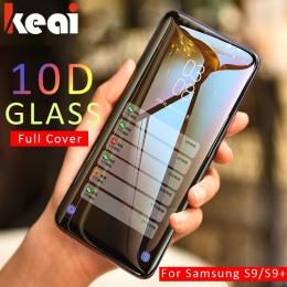 10D pełna pokrywa szkło hartowane dla Samsung Galaxy A7 2108 uwaga 9 8 ekran folia na wyświetlacz do Galaxy S8 S9 A6 a8 Plus 201