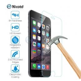 Szkło hartowane dla iPhone 8 plus folia ochronna na ekran do iPhone 7 Plus szkło dla iPhone X SE 5 5S solidną ochronę szklana po