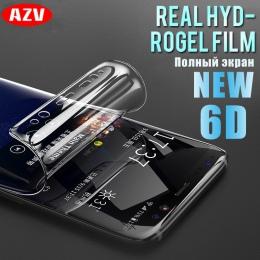 6D pełna pokrywa miękkie hydrożelowe Film do Samsung Galaxy uwaga 8 9 S8 S9 ochronne na ekran do Samsung S9 S8 s7 S6 krawędzi Pl
