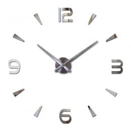 2019 nowy zegar ścienny kwarcowy zegarek reloj de pared nowoczesny design duże dekoracyjne zegary ścienne europa akrylowe naklej