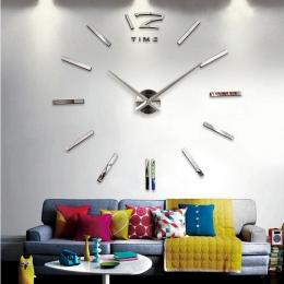 Sprzedaż zegar ścienny zegarek zegary 3d diy akrylowe naklejki na lusterka salon kwarcowy igły europa horloge darmowa wysyłka
