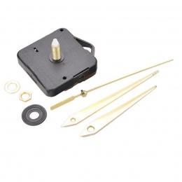 Zegar ścienny kwarcowy mechanizm ruchu DIY naprawy zestaw części 22mm wrzeciona długie ręce