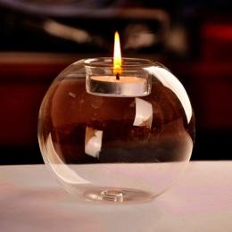 Przenośne gorąca sprzedaż klasyczny kryształ SZKLANA ŚWIECA uchwyt na ślub Bar dekoracje na domowe przyjęcie świecznik #80847