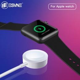 ESVNE bezprzewodowa ładowarka do Apple watch 1/2/3/4 USB szybkie wirless ładowania 1 m kabel