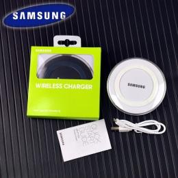 Bezprzewodowa ładowarka do Samsunga Adapter qi ładowania Pad dla Galaxy S7 S6 krawędzi S8 S9 S10 Plus uwaga 5 Iphone 8 X XS XR d