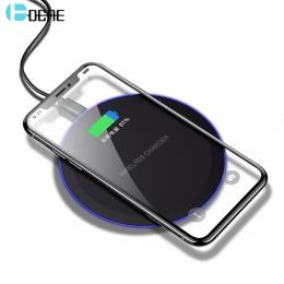 DCAE bezprzewodowy ładowarka do Samsunga Galaxy S8 S9 uwaga 9 8 USB Qi bezprzewodowa ładowarka do iPhone XS Max X 8 Plus bezprze