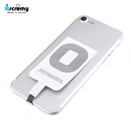 Ascromy Qi bezprzewodowa ładowarka inteligentny adapter do ładowania receptora odbiornik dla iPhone 7 6 6 S Plus 5 5S SE 5SE 5C