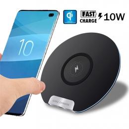 Dla Huawei P30 Pro Mate20 Pro Samsung S10 S9 S7 S8 iPhone XS Max X Xiaomi Mix 2 S Mix 310 W Qi bezprzewodowa ładowarka szybkiego