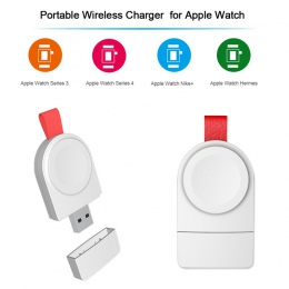 Nowa bezprzewodowa ładowarka do Apple obserwować serii 2 3 zegarek kabel ładowania ładowarka bezprzewodowa dla I zegarek 1 2 3 4