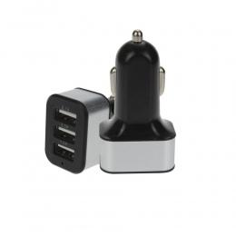 Ładowarka uniwersalna 12 V 3 Port USB ładowarka samochodowa Adapter dla iPhone/Samsung telefon komórkowy 18DEC19