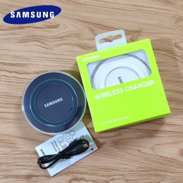 Oryginalny QI bezprzewodowa ładowarka do Samsunga pad S6 krawędzi 5 V 2A ładowarka do Galaxy S7 S8 S9 S10 SE Plus uwaga 4 5 7 8