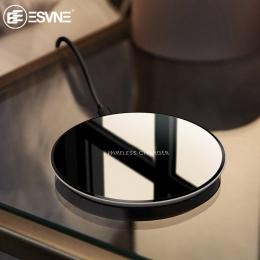 ESVNE Qi bezprzewodowa ładowarka 5 w ładowarka do telefonu bezprzewodowego szybkie ładowanie dla iphone XS MAX XR Samsung Xiaomi