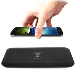 Przenośny Qi bezprzewodowa ładowarka do Samsunga Galaxy S8 S7 S6 krawędzi bezprzewodowa podstawka ładująca dla iPhone X 8 Plus N
