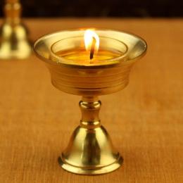 Retro świecznik świecznik świecznik złoty Party piękne ze stopu miedzi kolekcjonerskie wystrój FestivalArt MultiSize Ornament