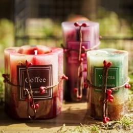 Bezdymne Tea Candle dekoracyjne kwiat płatek DIY wosk sojowy czysty naturalny krajobrazu surowiec klasy do szkła herbaty świeczn
