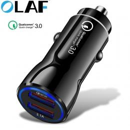 Olaf ładowarka samochodowa szybka ładowarka 3.0 2.0 ładowarka do telefonu komórkowego szybka ładowarka samochodowa do iPhone XS