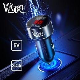 VVKing 5 V 3.0A Max podwójna ładowarka samochodowa USB do Huawei Xiaomi Samsung S8 iPhone X 8 Plus tablet z funkcją telefonu itp