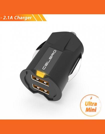 Najmniejszy Usb Mini ładowarka samochodowa Auto ładowarka do telefonu komórkowego Adapter samochodowy 2A ładowarka samochodowa U
