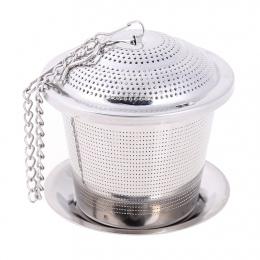 Ze stali nierdzewnej zaparzacz sitkowy do herbaty wielokrotnego użytku sitko do herbaty luźne czajniczek liść przyprawa filtr si