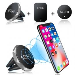 GETIHU telefon samochodowy uchwyt magnetyczny uchwyt do otworu wentylacyjnego komórkowy stojak na smartphone komórkowy magiczny