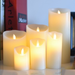 , Zasilane bateryjnie diody led na świeca wykonana parafiny, flameless led świeca woskowa na boże narodzenie dekoracyjne, pokoju