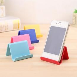 Uniwersalny z tworzywa sztucznego uchwyt na telefon podstawę dla iPhone 7 8 X dla Samsung dla smartfona Xiaomi cukierki kolor ko