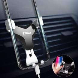 Uchwyt samochodowy na telefon uniwersalny do nawiewu uchwyt na uchwyt na telefon do telefonu w samochodzie nie ma magnetyczny st