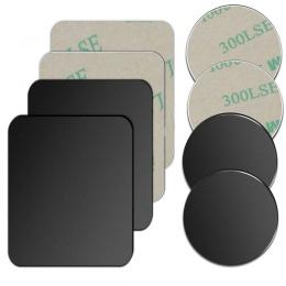 5 sztuk/1 sztuk/partia metalowa płyta dysku na magnes uchwyt samochodowy telefon blachy żelaza naklejki dla magnetyczny uchwyt d