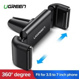 Ugreen uchwyt na telefon nie magnetyczny uchwyt do otworu wentylacyjnego stojak Smartphone uchwyt podporowy w samochodzie dla iP