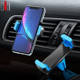Hisomone uniwersalny uchwyt samochodowy na telefon stojak uchwyt do otworu wentylacyjnego uchwyt 360 stopni do telefonu wsparcie