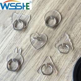 Uniwersalny stentu uchwyt na telefon komórkowy stojak na palec pierścień magnetyczny dla śliczne telefon komórkowy Smart telefon