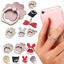 Nowy palec pierścień telefon komórkowy stojak na smartphone uchwyt dla iPhone X 8 7 6 Plus 5S inteligentny telefon IPAD MP3 samo