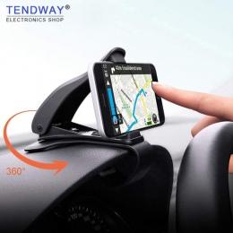 Tendway deska rozdzielcza samochodu uchwyt na telefon 360 stopni uchwyt na telefon komórkowy stojak uchwyt w samochodzie uniwers