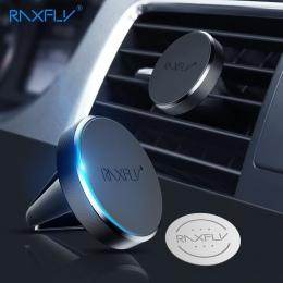 RAXFLY magnetyczny uchwyt do telefonu samochód dla Redmi 4X uwaga 5 Pro uchwyt do otworu wentylacyjnego na uchwyt na telefon do