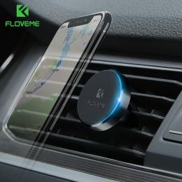 FLOVEME samochodowy magnetyczny uchwyt na telefon uniwersalny magnes naklejka stojak uchwyt do samochodu dla iPhone X Samsung ko