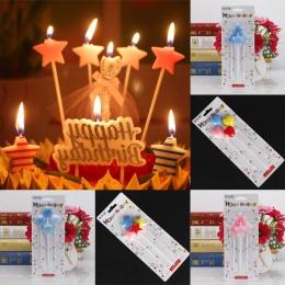 Ślub wijąca się świeczka tortowa 8 sztuk ochrony środowiska nietoksyczny dla dzieci Birthday Party bezpieczne płomienie wystrój
