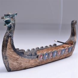 Smok stojak na kadzidełka palnika ręcznie rzeźbione rzeźba żar ozdoby