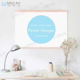 A4 magnetyczne drewniane ramki do zdjęć czarne biały DIY, minimalistyczne fototapety plakat A3 obraz na płótnie wieszak Nordic p