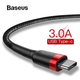Baseus USB typu C kabel do Xiaomi redmi k20 pro USB C telefon komórkowy kabel do szybkiego ładowania kabel typu C do USB urządze