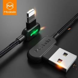 MCDODO 3 m 2.4A szybki kabel USB dla iPhone X XS MAX XR 8 7 6 s Plus 5 ładowania kabel do telefonu komórkowego kabel przewód zas