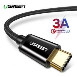 Ugreen USB typu C kabel do Samsung S9 S8 szybkie ładowanie telefon komórkowy typu C przewód ładowania USB C kabel do Xiaomi mi9