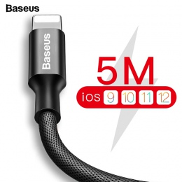 Baseus kabel USB dla iPhone Xs Max Xr X 8 7 6 6 s 5 5S iPad szybka ładowarka do ładowania kabel do telefonu komórkowego dla iPho