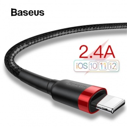Baseus kabel USB dla iPhone x ładowarka kabel do ładowania dla iPhone 8 7 6 6 s plus USB do transmisji danych kabel telefoniczny
