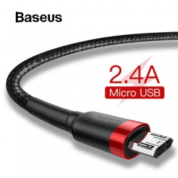 Baseus 1 m 2 m Micro USB kabel do Xiaomi Redmi Note 5 Pro 4 odwracalne Micro USB ładowarka kabel do transmisji danych dla samsun