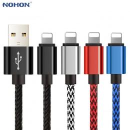 20 cm 1 m 2 m 3 m USB do transmisji danych ładowarka kabel do ładowania dla iPhone 6 S 6 S 7 8 Plus X 10 XR XS MAX 5 5S SE pocho