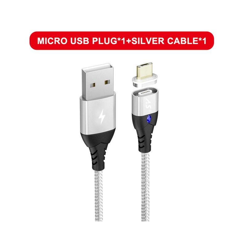 A.S kabel magnetyczny Micro USB typu C Super szybkie