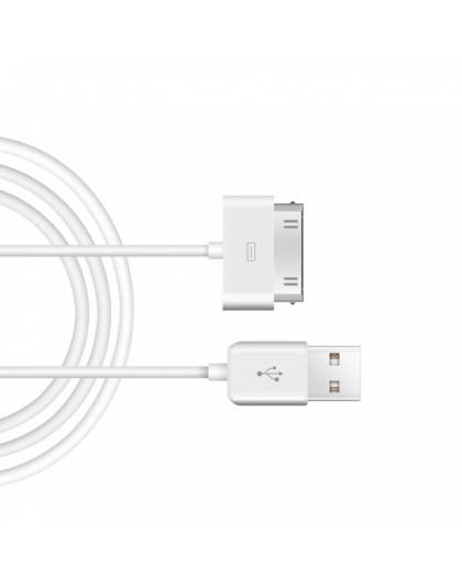 GUSUG kabel USB szybkie ładowanie dla iPhone 4 s 4S 3GS 3G iPad 1 2 3 ipoda Nano itouch 30 Pin oryginalna ładowarka adapter sync