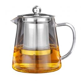 5 rozmiary dobrej borokrzemowego szklany imbryk z ponad 304 zaparzacz ze stali nierdzewnej sitko ciepła do kawy dzbanek do herba