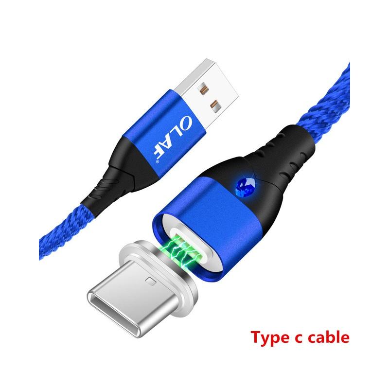 OLAF kabel magnetyczny Micro usb typu C szybka adapter do