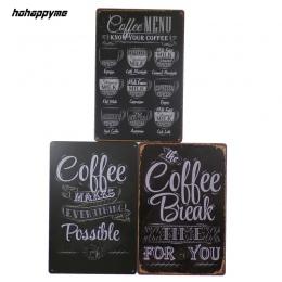 Ekspres do kawy znak dekoracji tablica Metal Vintage dom sztuki licencji plakat Cafe Bar płyty metalowa dekoracja ścienna w styl